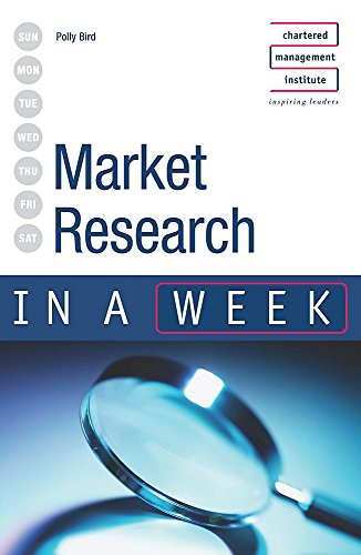 Market Research In A Week (Iaw) von Hodder Arnold