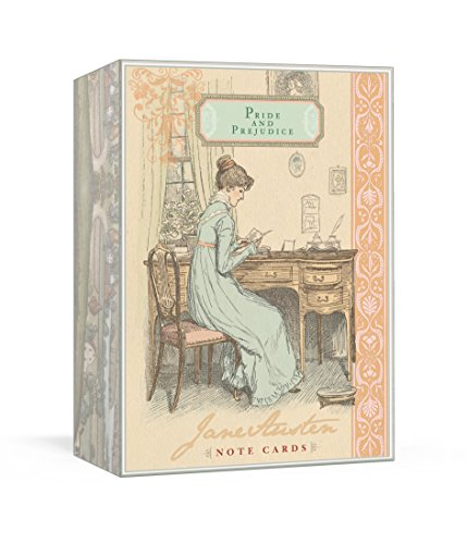 Jane Austen Note Cards - Pride and Prejudice von Potter Style