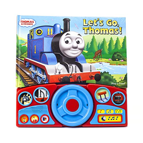 Ride Along with Thomas Steering Wheel Book von Publications International