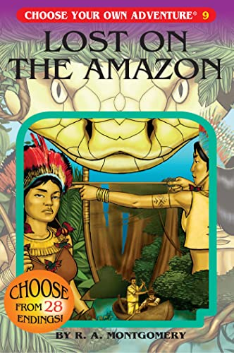 Lost on the Amazon (Choose Your Own Adventure, Band 9)