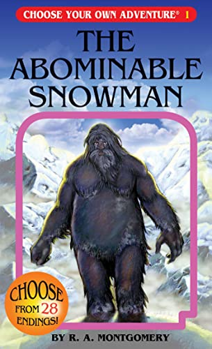The Abominable Snowman (Choose Your Own Adventure, Band 1)