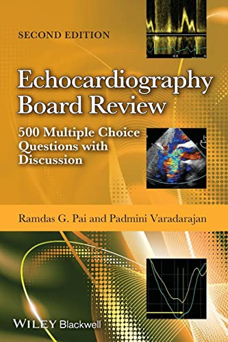 Echocardiography Board Review: 500 Multiple Choice Questions With Discussion von John Wiley & Sons Inc