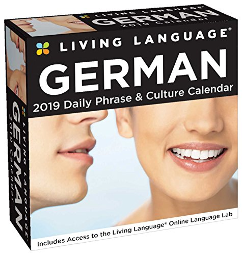 Living Language: German 2019 Day-to-Day Calendar von Brown Trout Publishers Ltd