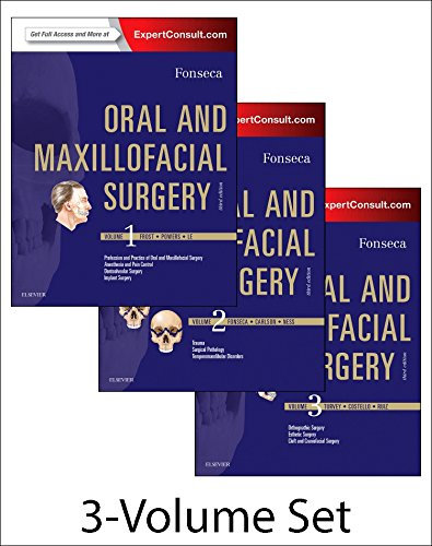 Oral and Maxillofacial Surgery: 3-Volume Set von Saunders