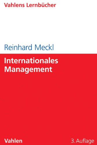 Internationales Management von Vahlen