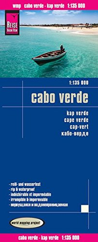 Reise Know-How Landkarte Cabo Verde (1:135.000): world mapping project von Reise Know-How Verlag Peter Rump GmbH