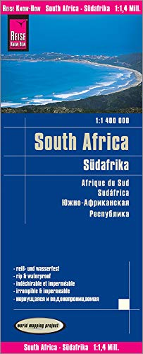 Reise Know-How Landkarte Südafrika (1:1.400.000): world mapping project von Reise Know-How Verlag Peter Rump GmbH