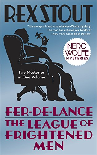 Fer-de-Lance/The League of Frightened Men (Nero Wolfe) von Bantam
