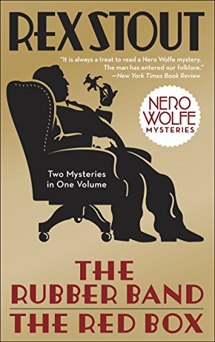 The Rubber Band/The Red Box 2-in-1 (Nero Wolfe) von Bantam
