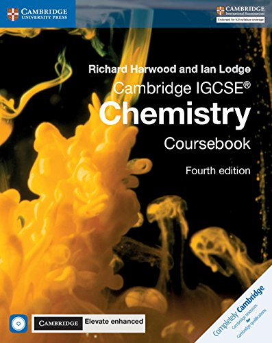 Cambridge IGCSE® Chemistry Coursebook with CD-ROM and Cambridge Elevate Enhanced Edition (2 Years) (Cambridge International IGCSE) von Cambridge University Press