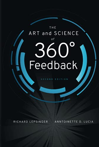 The Art and Science of 360 Degree Feedback von LIGHTNING SOURCE INC