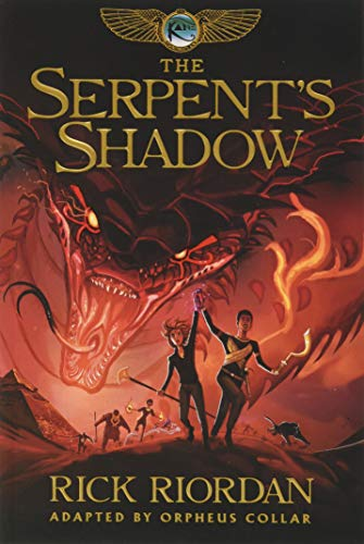 The Kane Chronicles, Book Three The Serpent's Shadow: The Graphic Novel von Disney-Hyperion