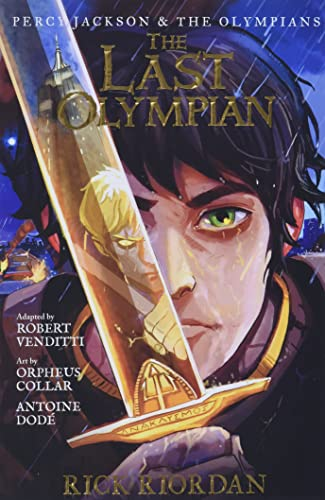 Percy Jackson and the Olympians The Last Olympian: The Graphic Novel (Percy Jackson & the Olympians) von Disney-Hyperion