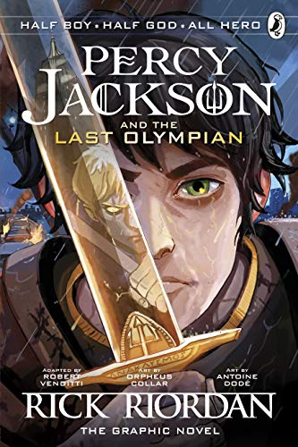 The Last Olympian: The Graphic Novel (Percy Jackson Book 5) von Penguin Books Ltd (UK)