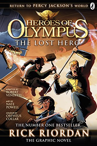 The Lost Hero: The Graphic Novel (Heroes of Olympus Book 1) (Heroes of Olympus Graphic Novels, Band 1) von Penguin Uk; Puffin