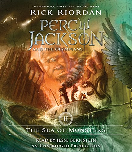 The Sea of Monsters: Percy Jackson and the Olympians: Book 2 von Listening Library (Audio)