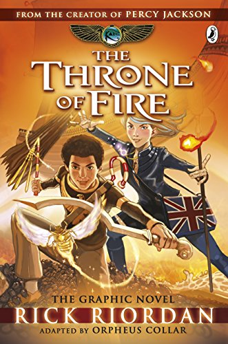 The Throne of Fire: The Graphic Novel (The Kane Chronicles Book 2) (Kane Chronicles Graphic Novels, Band 2) von Puffin