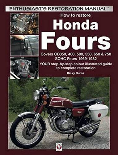 How to Restore Honda Fours: Enthusiast's Restoration Manual
