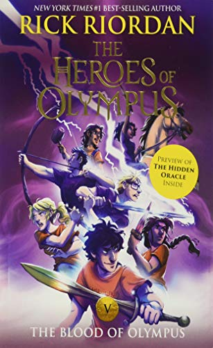The Heroes of Olympus, Book Five The Blood of Olympus (new cover) von Disney-Hyperion