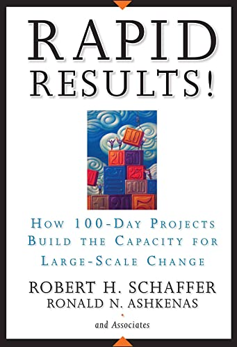 Rapid Results!: How 100-Day Projects Build the Capacity for Large-Scale Change: How 100-Day Projects Develop the Capacity for Large-Scale Change von Wiley John + Sons