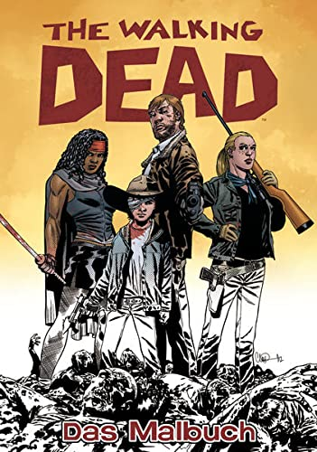 The Walking Dead Das Malbuch von Cross Cult