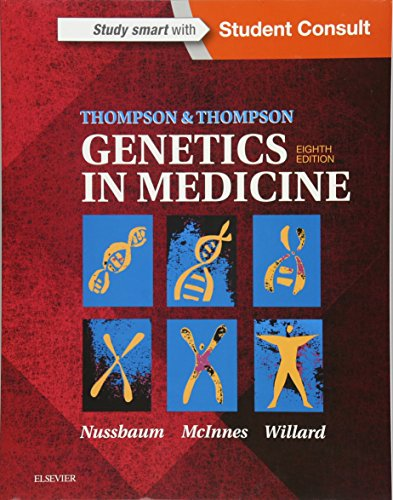 Thompson & Thompson Genetics in Medicine (Thompson and Thompson Genetics in Medicine) von Elsevier
