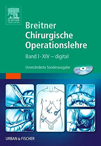 Breitner Chirurgische Operationslehre: Band 1-14 - digital von Elsevier
