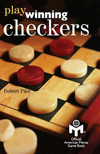 Play Winning Checkers: Official Mensa Game Book (w/registered Icon/trademark as shown on the front cover) von BookSurge Publishing