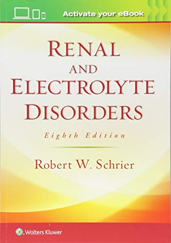 Renal and Electrolyte Disorders von Lippincott Williams&Wilki