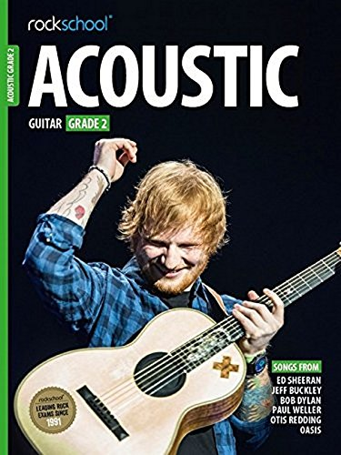 Rockschool Acoustic Guitar - Grade 2 (2016) (Book & Online Audio): Noten, Lehrmaterial, E-Bundle, Download (Audio) für Gitarre von Music Sales