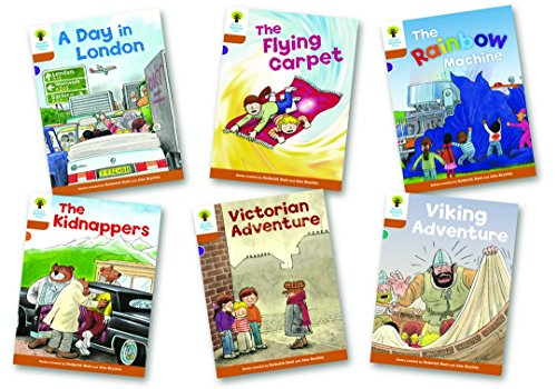 Oxford Reading Tree: Stage 8: Stories: Pack of 6