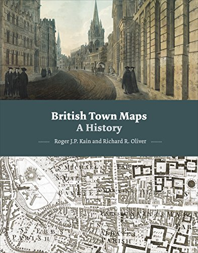 British Town Maps: A History von The British Library Publishing Division