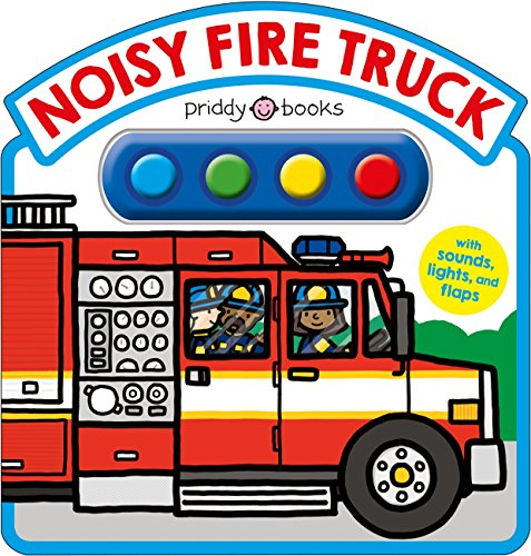 Noisy Fire Truck Sound Book (Simple Sounds) von PRIDDY BOOKS