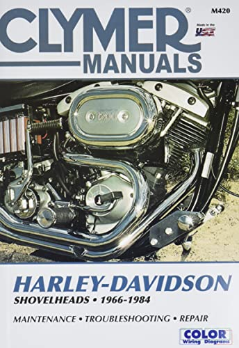 CLYMER HARLEY-DAVIDSON SHOVELH: Clymer Workshop Manual