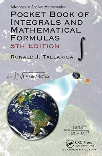 Pocket Book of Integrals and Mathematical Formulas (Advances in Applied Mathematics) von Taylor & Francis Inc