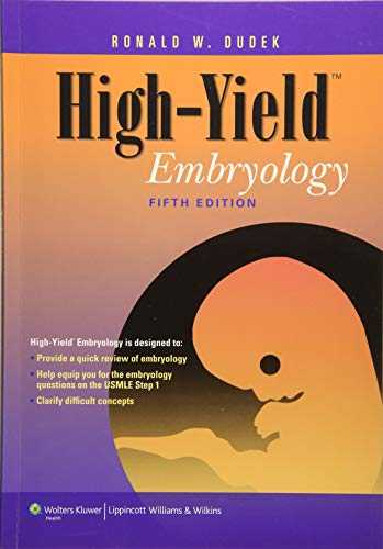 High-Yield Embryology (High Yield Series) von Lippincott Williams and Wilkins
