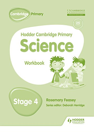 Hodder Cambridge Primary Science Workbook 4 von Hodder Education