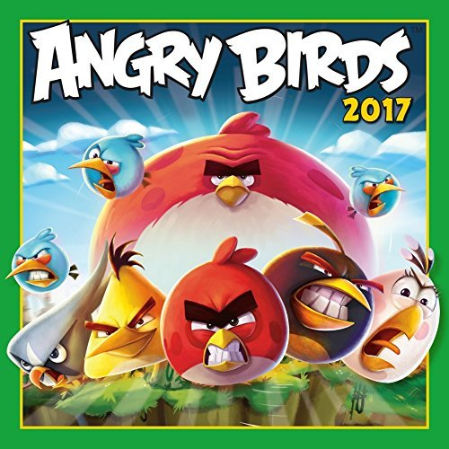 Cal 2017-Angry Birds von Sellers Pub Inc