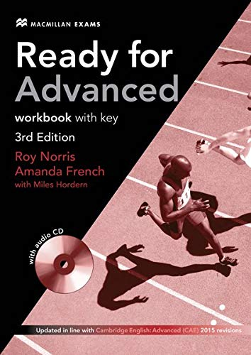 Ready for Advanced: 3rd Edition – 2014 / Workbook with Audio-CD and Key von Hueber, Verlag GmbH & Co. KG