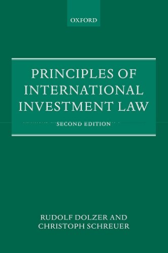 Principles of International Investment Law von Oxford University Press, Usa