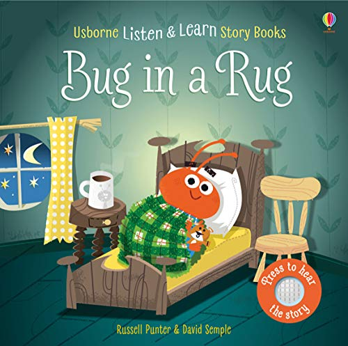 Bug in a Rug (Listen and Learn Stories) von Usborne Publishing