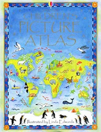 Children's Picture Atlas von Usborne Publishing Ltd