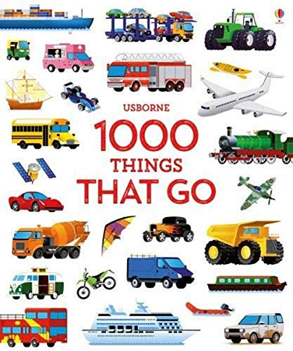 1000 Things That Go (1000 Pictures) von USBORNE CAT ANG