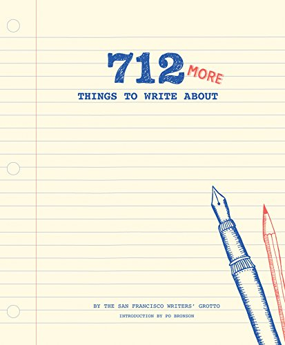 712 More Things to Write About (Journal) von Chronicle Books