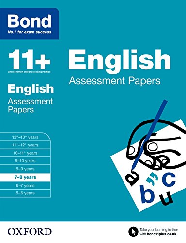 Bond 11+: English: Assessment Papers: 7-8 years von Oxford University Press