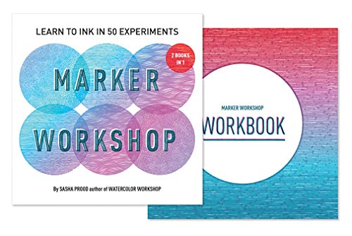 Marker Workshop (2 Books in 1): Learn to Ink in 50 Experiments von Abrams