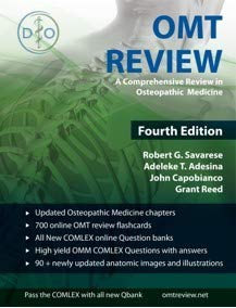 OMT Review: A Comprehensive Review in Osteopathic Medicine von OMT REVIEW