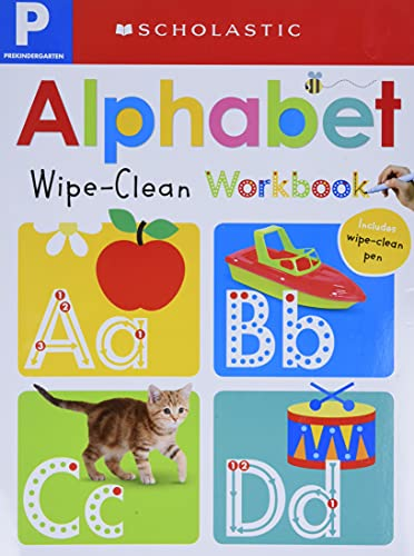Wipe-Clean Workbook: Pre-K Alphabet (Scholastic Early Learners)