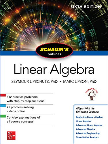 Linear Algerbra - Schaum´s outlines von McGraw-Hill Education Ltd