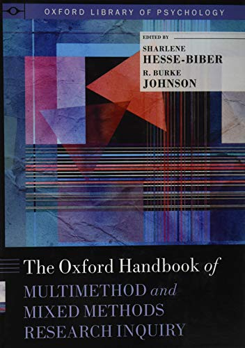 Hesse-Biber, S: Oxford Handbook of Multimethod and Mixed Met (Oxford Library of Psychology)